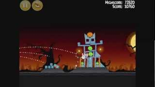 Angry Birds Seasons - Trick or Treat Level 1-3 Walkthrough 3 Stars