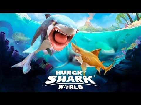 Hungry Shark World - comienzo/ tiburoncito ( tiburon punta negra) ep 1