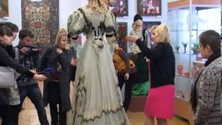 Выставка старинных платьев. Художественный музей.