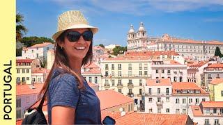 The best of central Lisbon, PORTUGAL |  travel vlog 3