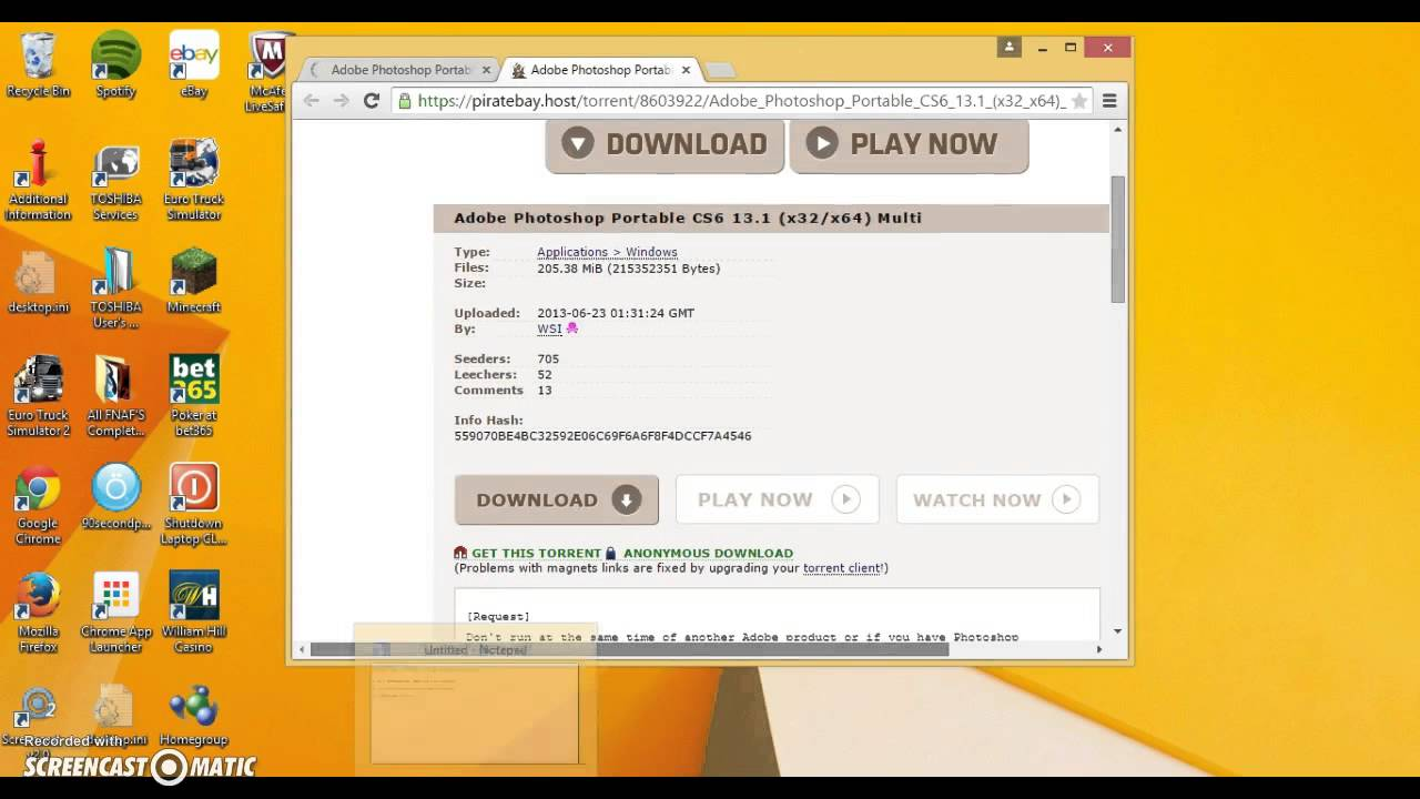 pirate bay anonymous download