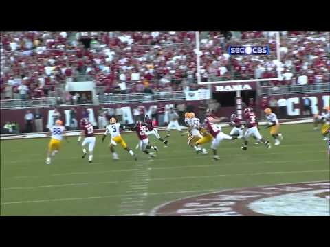 2009 Alabama Crimson Tide (#3) vs LSU Tigers (#9)