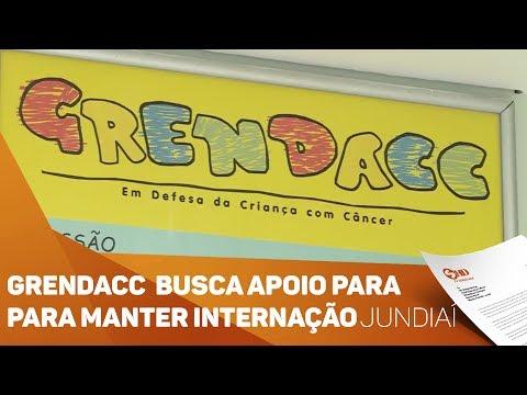 GRENDACC busca apoio para manter internação - TV SOROCABA/SBT