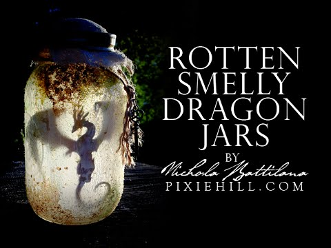 Rotten Smelly Dragon Jars Tutorial Youtube