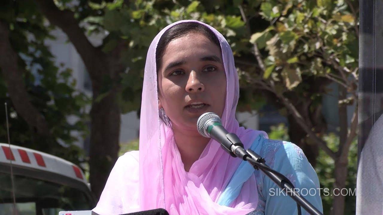 Bibi Navkiran Kaur Khalra - March for Freedom - San Francisco 2015