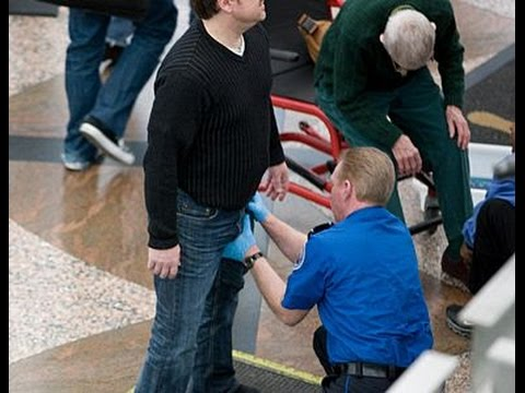 TSA Pre-Check at Orlando International Airport MCO—hidden camera