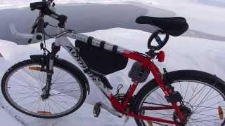 Снежная зима. Собственно зимний велосипед(Наш канал для тех, кто привык к скорости, движению. Если отдых