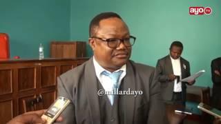 Lissu alivyogoma kutoka Mahakamani ili asikamatwe na Polisi Dodoma