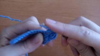 Урок 13: как вязать пышный столбик крючком