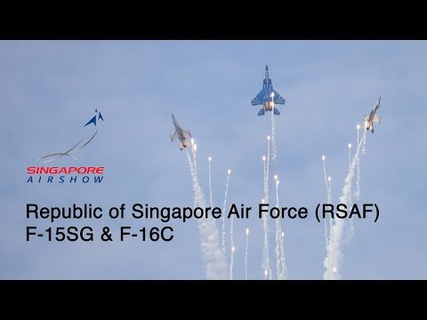 Singapore Airshow 2018 - Republic of Singapore Air Force (RSAF) Aerial Display