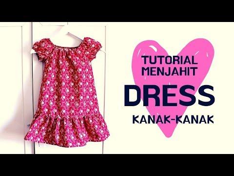 (Sew Along) Dress Kanak-Kanak | Simplicity 1449
