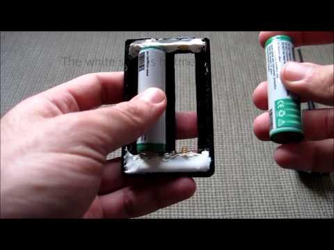 Yaesu FT-60 convert it to use Lithium battery