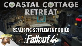 COASTAL COTTAGE BUNKER - Realistic Fallout 4 settlement tour battle ShareEveryWinFallout4