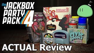 The Jackbox Party Pack 4 ACTUAL Game Review