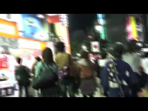 night life in shibuya