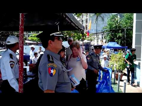 Myanmar Police Open Day