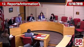 sbcc board of trustees 11/14/2019