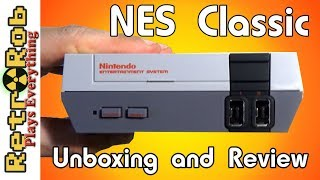 NES Classic Unboxing, Gameplay, Features and Thoughts *Finally*