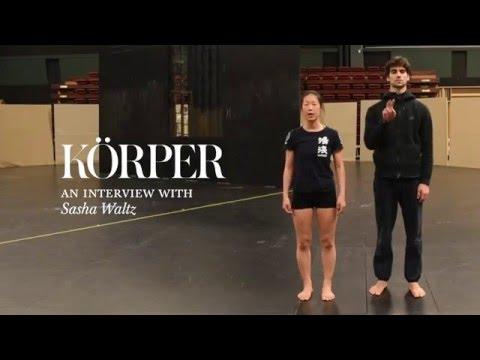 Körper - intervju med koreografen Sasha Waltz