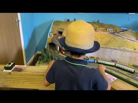 Fun Day at Railworld Wildlife Haven Peterborough//英国Vlog: 跟着Samuel君一起体验各种迷你火车模型