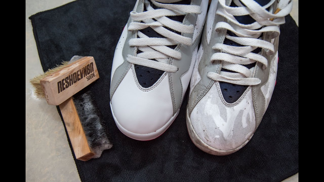 How to clean Jordan Olympic 7s with