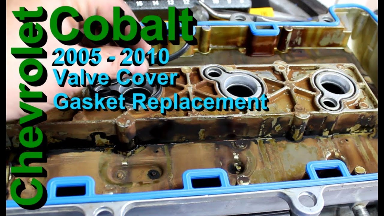 medium resolution of chevrolet cobalt valve cover gasket replacement 2005 2010
