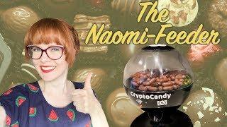 Help make Naomi's ass fat by feeding her chocolate