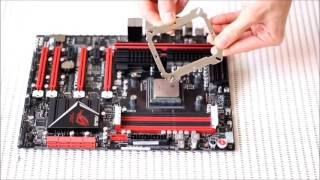 thermallright Le Grand Macho RT - AM3 socket Installation procedure