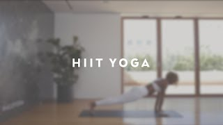 HIIT Yoga with Koya Webb - Alo Yoga