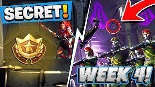Fortnite WEEK 4 Hidden Battle Pass Token - Fortnite Battle Royale