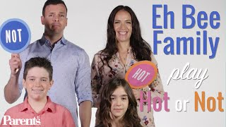 The Eh Bee Family Play Hot or Not: Parents Edition | Parents