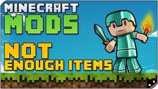 Minecraft Mods 03 - Not Enough Items (1.6.4) Uno de los mods mas utiles