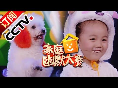 《CCTV家庭幽默大赛 第二季》 20160921 六只萌犬上演集体秀 最美喜羊羊神回复灰太狼  | CCTV