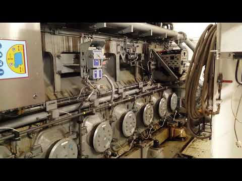 MAN Marine Diesel Engine 4 Stroke 8L32/44CR