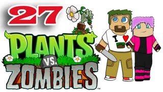 """ч.27 Растения против Зомби с кошкой - Пазлы """"Я-зомби"""""""
