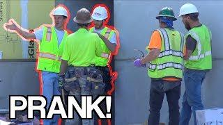 CONSTRUCTION WORKER PRANK!