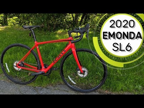 Disc Bike That Can Climb! The 2020 Trek Emonda SL6 Disc Road Bike Weight  and Feature Review