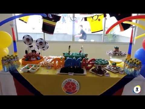 Fiesta Temática Fútbol / Bucaramanga / Deportes en Juego