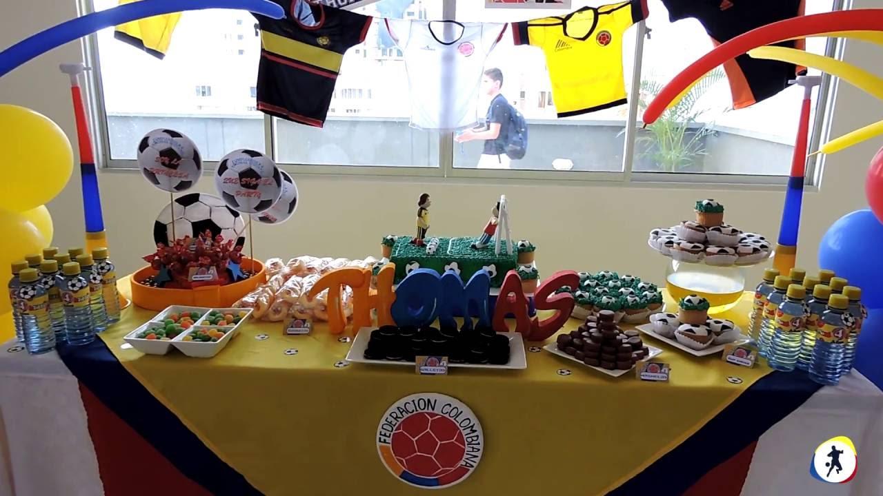 fiesta temtica ftbol bucaramanga deportes en juego