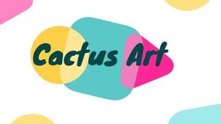 Creative Tuesdays with Liz: Cactus Art