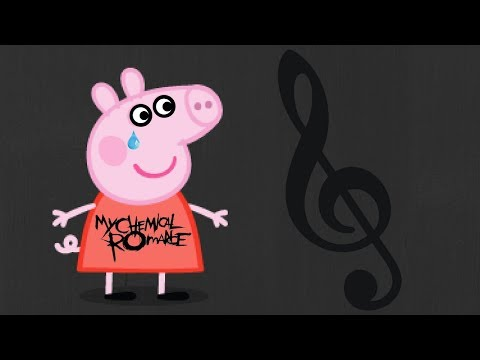 Peppa Pig Joins The Black Parade [YTP] -G Note Warning-