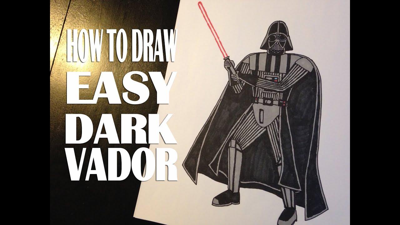 Le Blog Devy Comment Dessiner Darth Vader Facilement