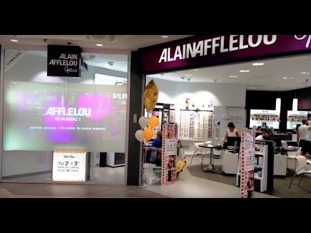 VINILE® & Alain Afflelou. (Visual Merchandising) CC. Carrefour Alcobendas