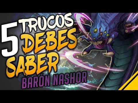 5 TRUCOS del BARON NASHOR que DEBES SABER | League Of Legends LoL Jota
