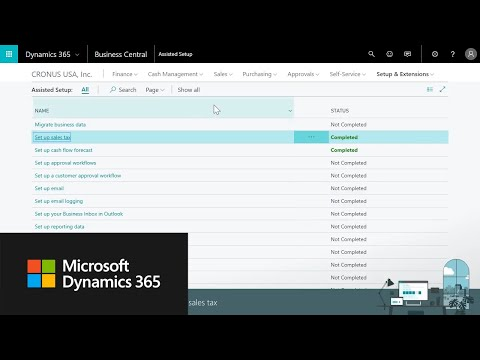Microsoft Dynamics 365 Business Central Videos | Turnkey