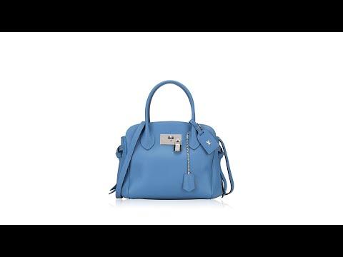 Louis Vuitton Veau Nuage Milla MM Blue