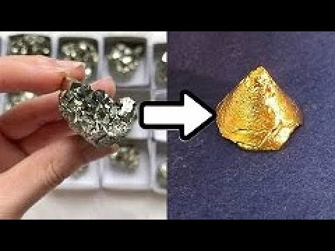 GOLD FROM IRON PYRITE !!!! How To Do It ..ask jeff Williams