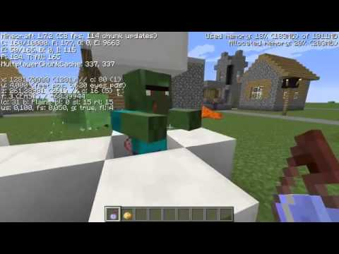 Dorfbewohner Zombie Zurück Verwandeln Zum Dorfbewohner Minecraft - Minecraft dorfbewohner bauen hauser mod