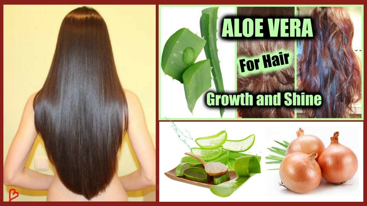 Magical Aloe Vera And Onion Hair Mask For Extreme Hair Growth