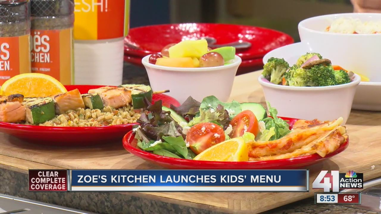 Zoe\'s Kitchen launches kids\' menu - YouTube